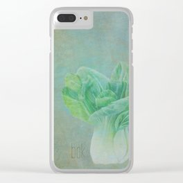 Bok Choy Still Life  Clear iPhone Case