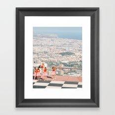 Barcelona ballet Framed Art Print