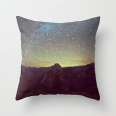 Night Luminescence 1 Throw Pillow
