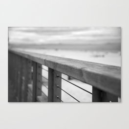 Hossegor seafront. Canvas Print