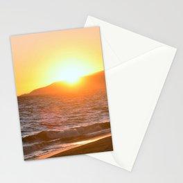 Malibu California Zuma Beach by Reay of Light Stationery Cards