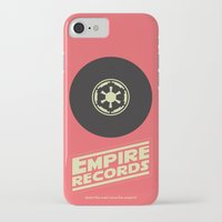 records iPhone & iPod Cases featuring Empire Records by mattranzetta