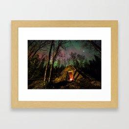 Sami Roundhouse Framed Art Print