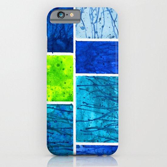Blue Block iPhone & iPod Case