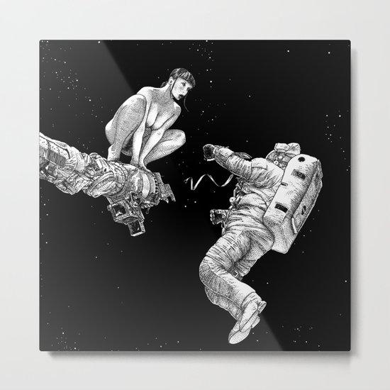 asc 578 - La séparation (Cutting the cord) Metal Print