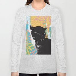 Memphis Cat Long Sleeve T-shirt