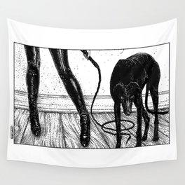 asc 887 - Le chien (Queue choisir VII) Wall Tapestry