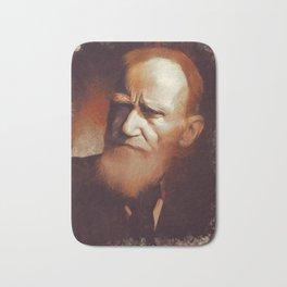 George Bernard Shaw, Playwright Bath Mat
