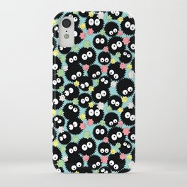 Pastel Soot Sprites with Konpeito Sugar Candy iPhone Case
