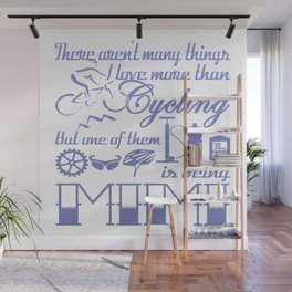 Cycling Mimi Wall Mural