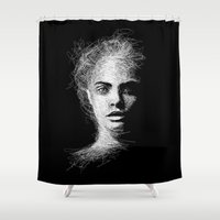 cara Shower Curtains featuring CARA by naidl