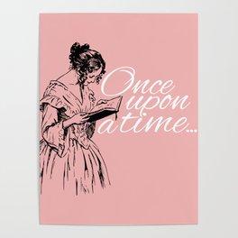 Reading Too Many Novels (Blush) Poster