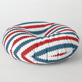 Summer Stripes 3 Floor Pillow