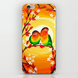 Lovebird phone case iPhone Skin