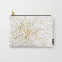 MOSCOW RUSSIA CITY STREET MAP ART Carry-All Pouch