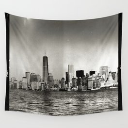 Lower Manhattan, New York City Wall Tapestry