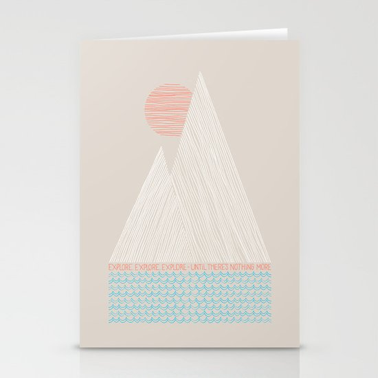 Nothing More Stationery Cards