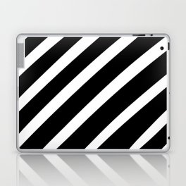Black'n'White Stripes Laptop & iPad Skin