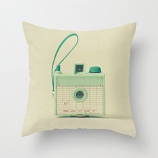 Mint Throw Pillow