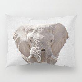 Elephant - Colorful Pillow Sham