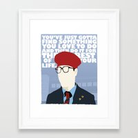 rushmore Framed Art Prints featuring Rushmore by Mike Oncley