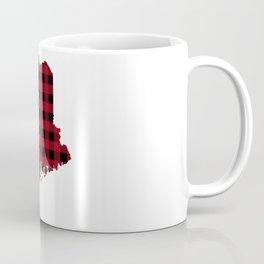 Maine - Buffalo Plaid Coffee Mug
