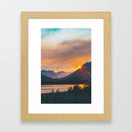 Jasper, Alberta Framed Art Print