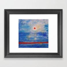 ocean Framed Art Print