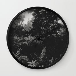 Under the leaves... Wall Clock