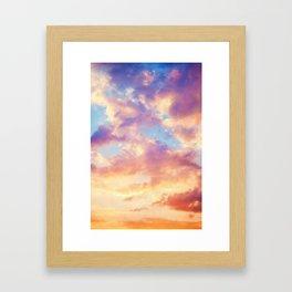 Reverie Sky Framed Art Print