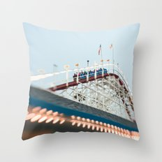 Summer Thrills Throw Pillow