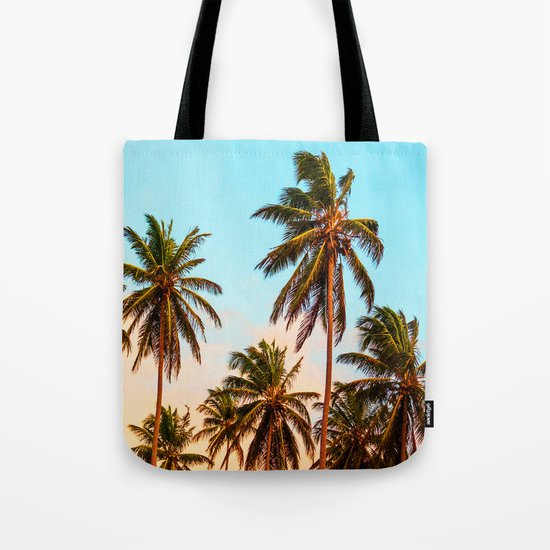 Palms trees. Tote Bag