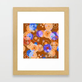 Hot Bubbles Framed Art Print