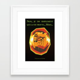 Réplicultes : Jurassic Park Framed Art Print