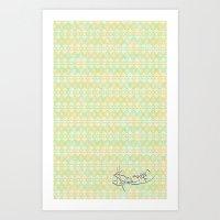 Soft Summer. Art Print