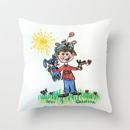 :: You Are My Sunshine :: Throw Pillow