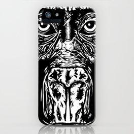 Lazy Beast iPhone Case