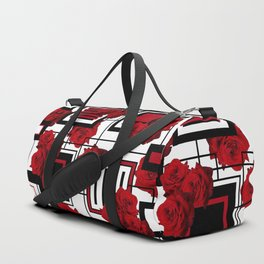 Behind the Rosey Bars Duffle Bag