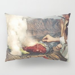 On A Good Day - Volcano BBQ Pillow Sham