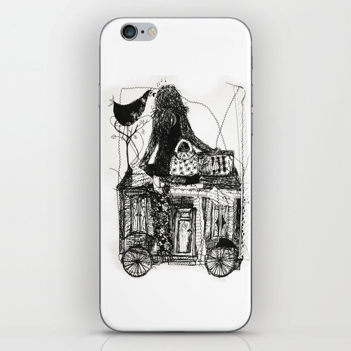 life is a journey iPhone Skin