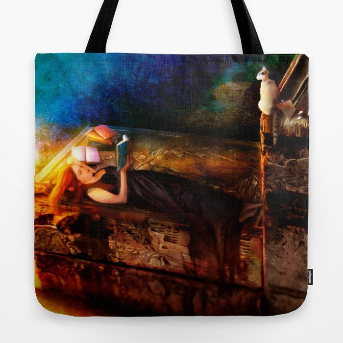 Ex Libris - A Book Lover's Dream Tote Bag