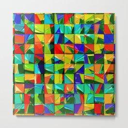 Broken tiles Metal Print