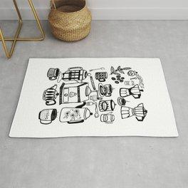 Coffee Doodles Rug
