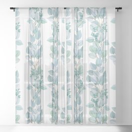 Eucalyptus Sheer Curtain
