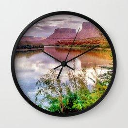 Colorado River at Moab Wall Clock