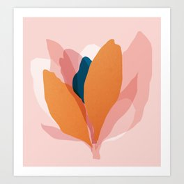 Abstraction_Floral_Blossom Art Print