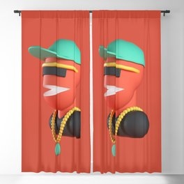 Cool dude Blackout Curtain