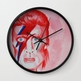 Ziggy Stardust Wall Clock