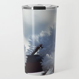 Ice Crystals Travel Mug