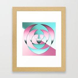 Coordination - 2 Framed Art Print